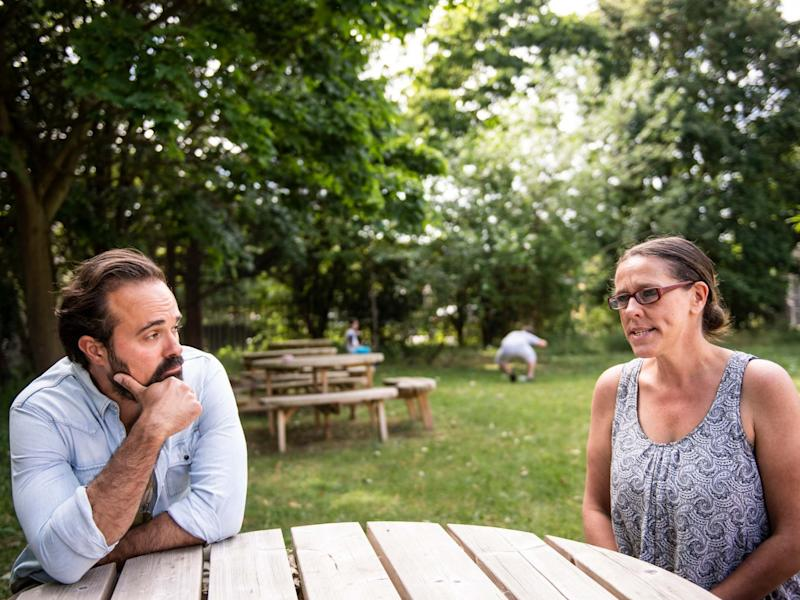 Community spirit: Evgeny Lebedev talks to Dawn Blackham about life on the London estate in lockdown: Lucy Young