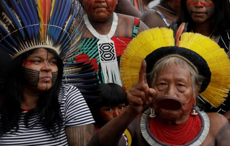 Brazilian tribes and forest tappers unite against Bolsonaro