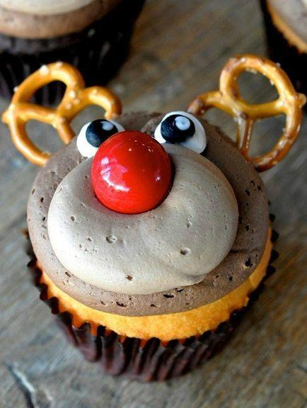 """<p>They're so cute, you might actually feel bad eating one.</p><p>Get the recipe from <a href=""""http://www.craftymorning.com/adorable-rudolph-reindeer-cupcakes/"""" rel=""""nofollow noopener"""" target=""""_blank"""" data-ylk=""""slk:Crafty Morning"""" class=""""link rapid-noclick-resp"""">Crafty Morning</a>.</p>"""