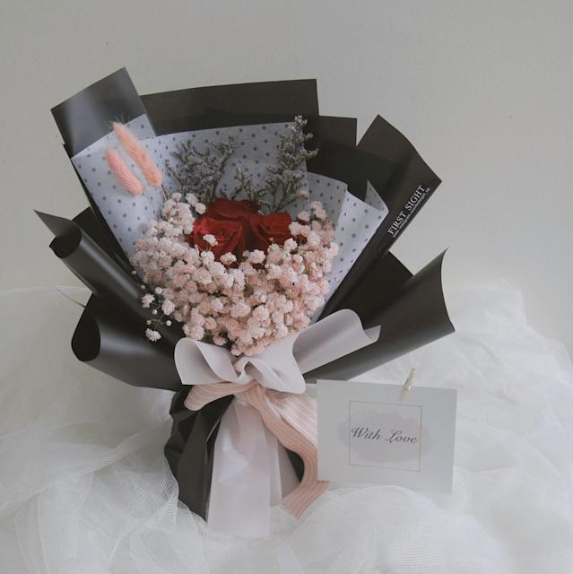 For My Love bouquet from First Sight SG ($38)