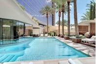 """<p>Think wellness and Sin City can't go hand in hand? Think again. You and the crew can get sweaty in a wall yoga or Latin beat class before taking advantage of the 25,000-square feet of <a href=""""http://www.rr-spa.com/"""" rel=""""nofollow noopener"""" target=""""_blank"""" data-ylk=""""slk:spa and fitness space"""" class=""""link rapid-noclick-resp"""">spa and fitness space</a>. Enjoy healthy spa cuisine (vegan, gluten-free, and other dietary options are available) and get a personalized nutrition consultation before whisking yourself off to a other-worldly treatment like the """"Red Carpet Ready"""" facial or a stress-relieving massage. Big night out? Splurge and get your makeup done before testing lady luck on the strip.</p><p><strong><em>For more information, visit </em></strong><a href=""""https://redrock.sclv.com/"""" rel=""""nofollow noopener"""" target=""""_blank"""" data-ylk=""""slk:redrock.sclv.com"""" class=""""link rapid-noclick-resp""""><strong><em>redrock.sclv.com</em></strong></a><strong><em>.</em></strong></p>"""