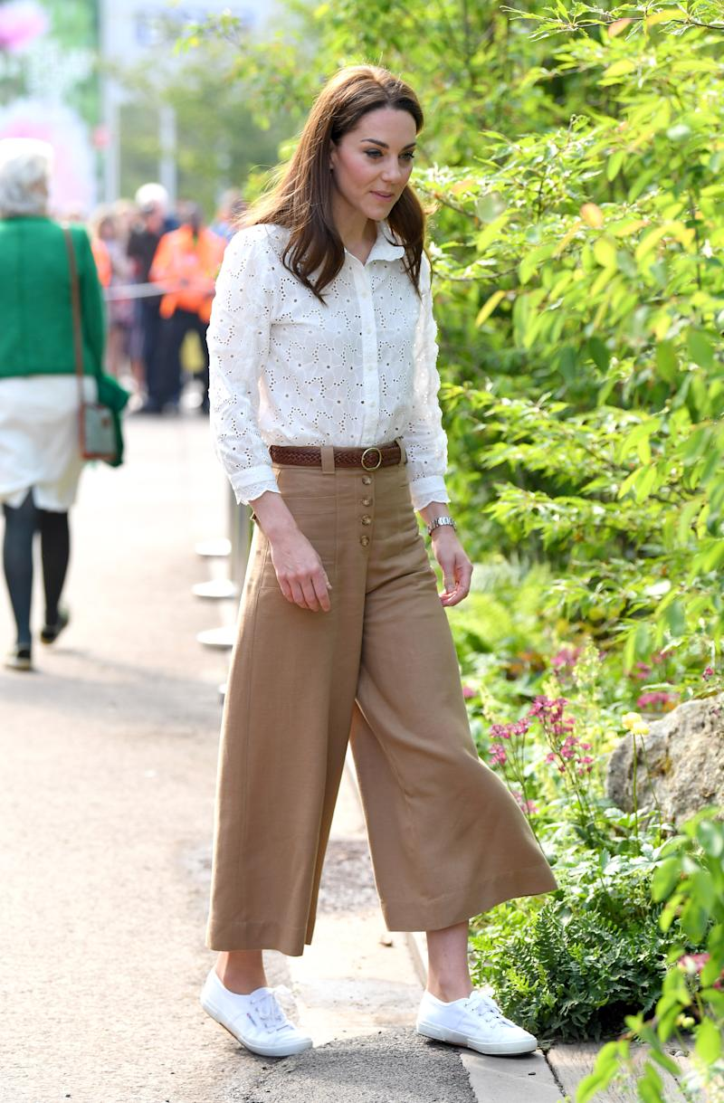 Kate Middleton no Chelsea Flower Show em maio de 2019 (Foto: Karwai Tang/WireImage)