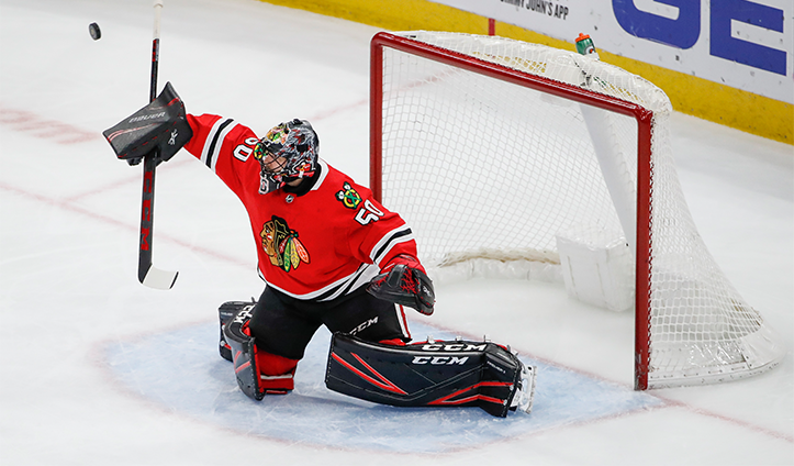 Corey Crawford joins the Blackhawks All-Decade Team
