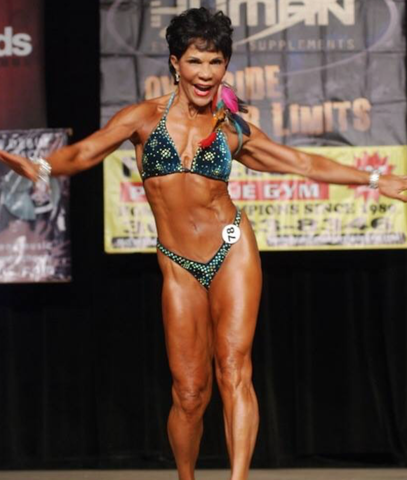 71-year-old female bodybuilder goes viral