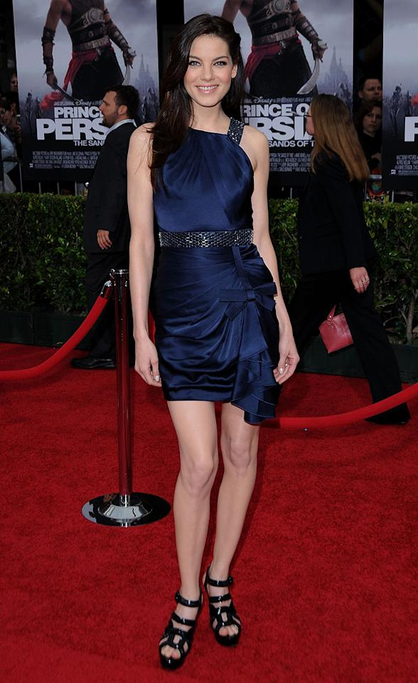 "<a href=""http://movies.yahoo.com/movie/contributor/1804504037"">Michelle Monaghan</a> at the Los Angeles premiere of <a href=""http://movies.yahoo.com/movie/1810041991/info"">Prince of Persia: The Sands of Time</a> - 05/17/2010"