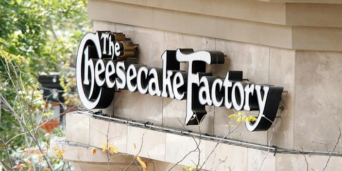 A Cheesecake Factory in Glendale, California.