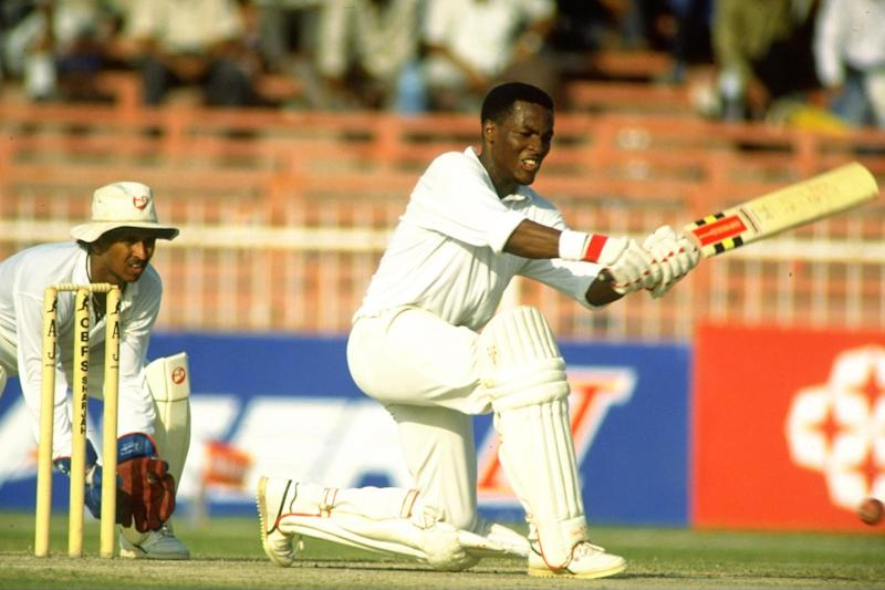 Brian Lara in action in 1991 (Getty Images)