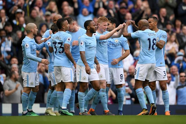 Manchester City 5 Swansea 0: Champions on course for 100 points after five-star demolition of Swans