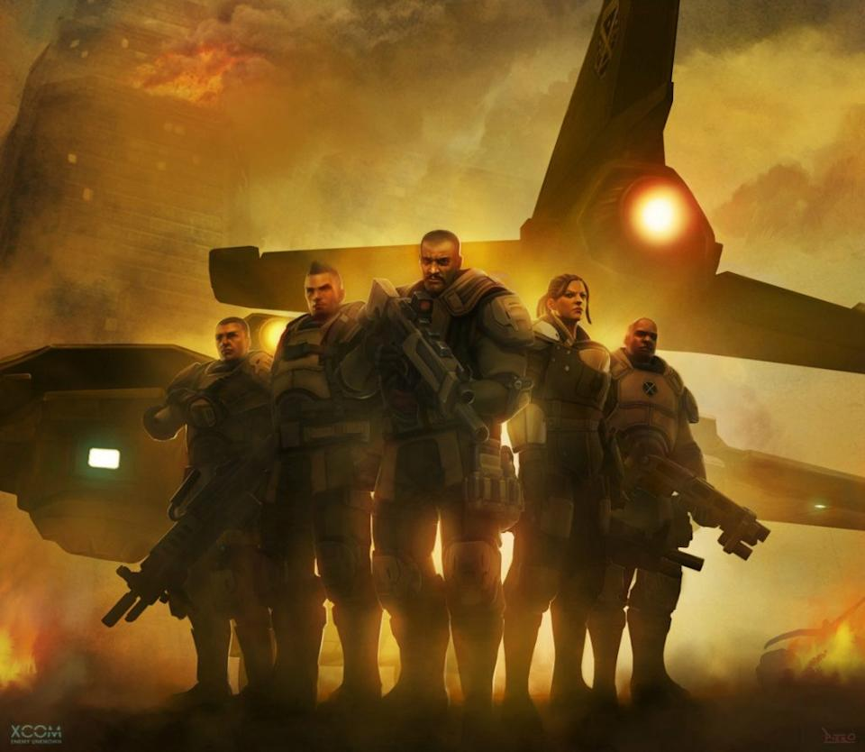 The most badass soldiers on Earth who can still miss with a shotgun at point blank range.<br>Credit: 2K Games