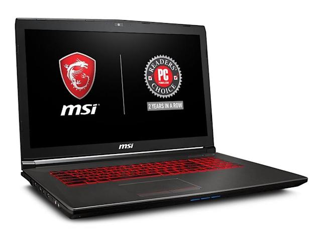 MSI's laptop will give you plenty of power to handle today's hottest games. But don't expect to play on the highest settings.