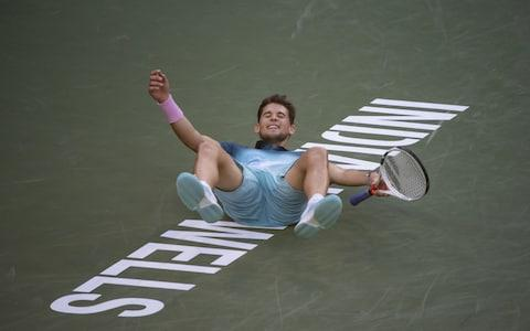 <span>Thiem won his first Masters title at Indian Wells last month </span> <span>Credit: Getty Images </span>