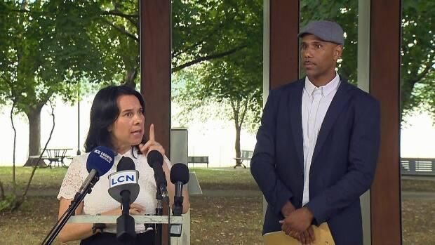 Montreal Mayor Valérie Plante says Will Prosper paid the price for his actions more than two decades ago and he has proven himself as dedicated to the community in the years since. (Radio-Canada - image credit)