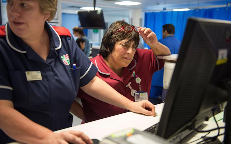 A&E departments were deluged for much of this winter - COPYRIGHT : JULIAN SIMMONDS