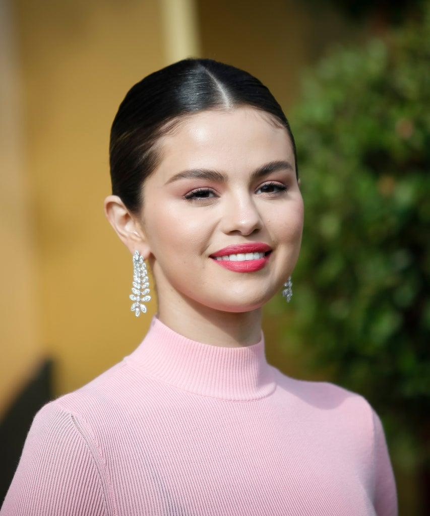 "WESTWOOD, CALIFORNIA – JANUARY 11: Selena Gomez attends the Premiere of Universal Pictures' ""Dolittle"" at Regency Village Theatre on January 11, 2020 in Westwood, California. (Photo by Tibrina Hobson/FilmMagic)"