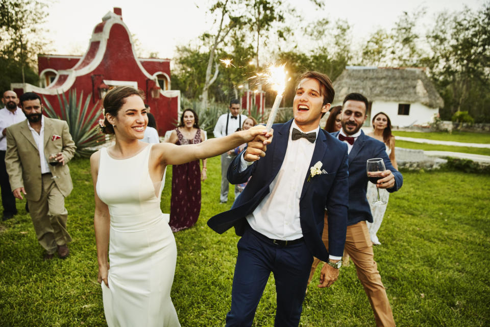 Is getting wed better for men rather than women? [Photo: Getty]