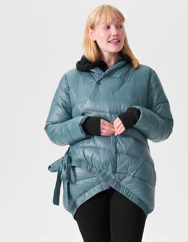 "Believe it or not, winter is right around the corner, and this lightweight puffer coat is a prime pick for those first frosty days of the season. $248, Universal Standard. <a href=""https://www.universalstandard.com/products/kanda-puffer-storm"" rel=""nofollow noopener"" target=""_blank"" data-ylk=""slk:Get it now!"" class=""link rapid-noclick-resp"">Get it now!</a>"