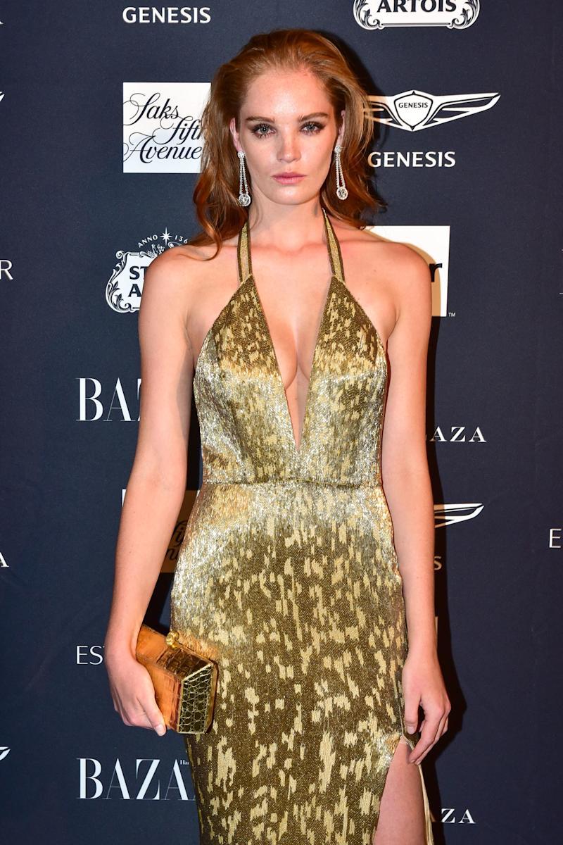 NEW YORK, NY - SEPTEMBER 07: Alexina Graham attends The Worldwide Editors Of Harper's Bazaar Celebrate ICONS by Carine Roitfeld presented by Infor, Stella Artois, FUJIFILM, Estee Lauder, Saks Fifth Avenue and Genesis at The Plaza Hotel on September 7, 2018 in New York City. (Photo by Sean Zanni/Patrick McMullan via Getty Images)