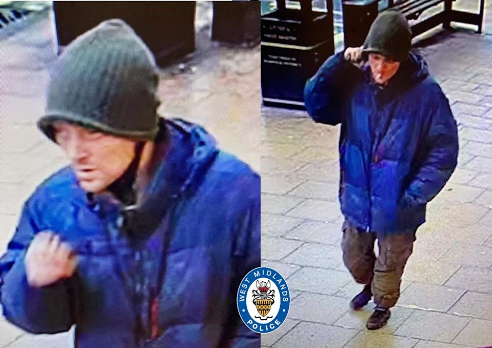 The latest CCTV images of Russell. (West Midlands Police)