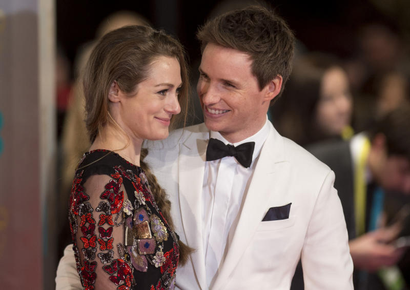 Actor Eddie Redmayne announced he will soon be a father of two.