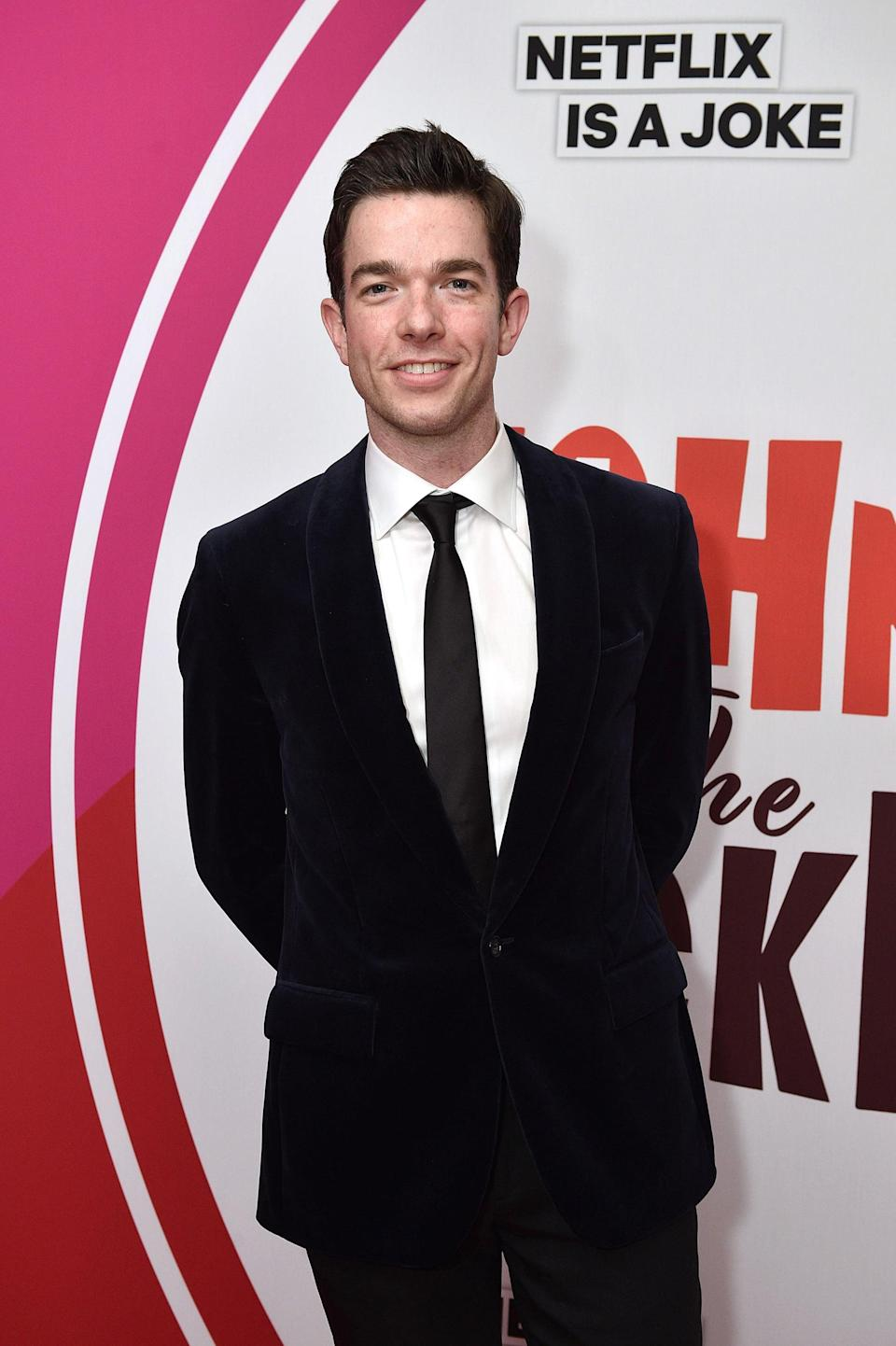 """<p>Olivia is now reportedly dating the comedian. News about their blossoming relationship broke in May 2021, just days after <a href=""""https://www.popsugar.com/celebrity/john-mulaney-and-annamarie-tendler-break-up-48314497"""" class=""""link rapid-noclick-resp"""" rel=""""nofollow noopener"""" target=""""_blank"""" data-ylk=""""slk:John and wife Annamarie Tendler announced their separation"""">John and wife Annamarie Tendler announced their separation</a>. According to <b>People</b>, <a href=""""https://people.com/tv/john-mulaney-olivia-munn-dating/"""" class=""""link rapid-noclick-resp"""" rel=""""nofollow noopener"""" target=""""_blank"""" data-ylk=""""slk:their relationship is still very new"""">their relationship is still very new</a> and they met at a church in LA. The two have yet to publicly confirm their romance.</p>"""
