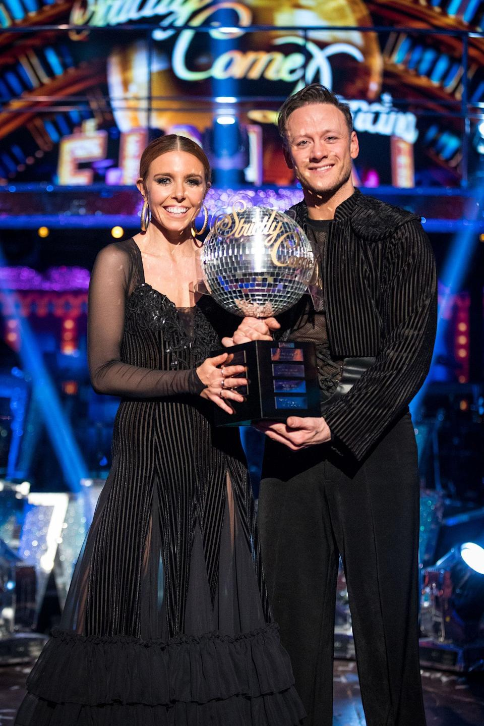 Stacey and Kevin got together after winning Strictly in 2018 (Photo: Aaron Chown - PA Images via Getty Images)