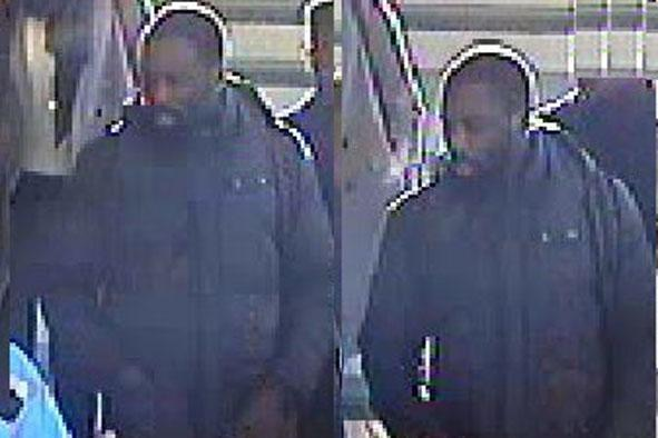 Police appeal: Officers want to speak to this man after the incident at Deptford station: British Transport Police