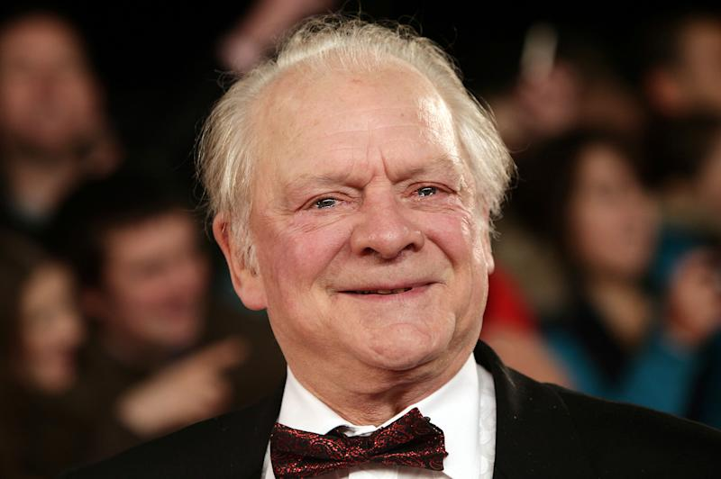 File photo dated 26/1/2011 of Sir David Jason who as signed a deal to publish his memoir after almost half a century in the entertainment world.