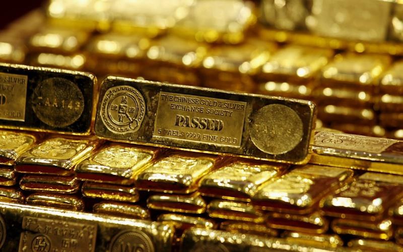 The gold price has spiked - REUTERS