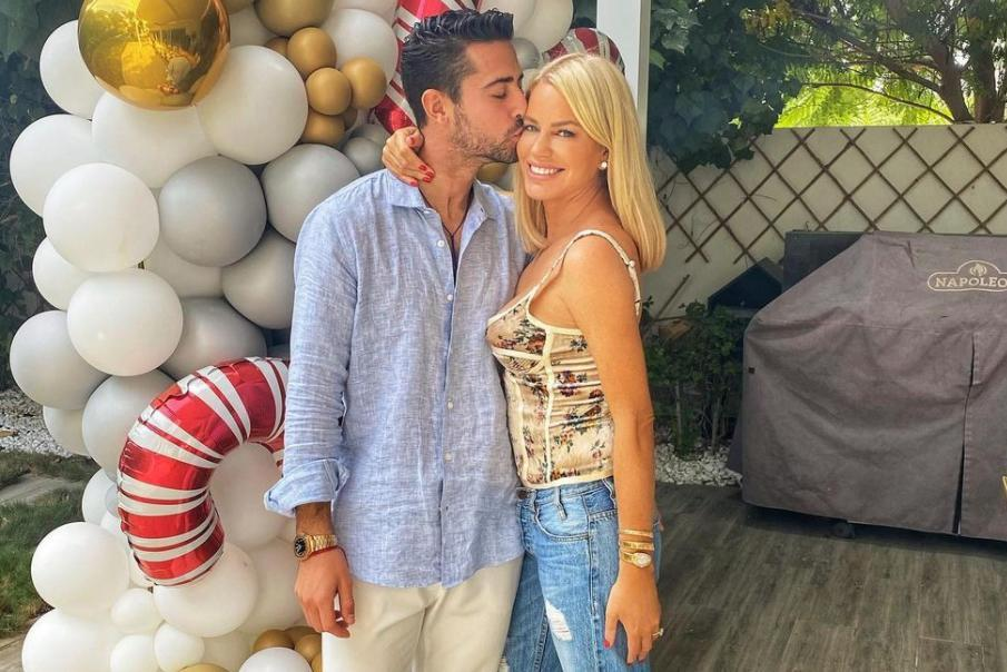 "<p>Nearly one year after her <a href=""https://people.com/tv/ladies-of-london-caroline-stanbury-split-cem-habib/"" rel=""nofollow noopener"" target=""_blank"" data-ylk=""slk:divorce,"" class=""link rapid-noclick-resp"">divorce,</a> the <em>Ladies of London</em> alumna <a href=""https://people.com/tv/ladies-of-london-caroline-stanbury-engaged-to-sergio-carrallo/"" rel=""nofollow noopener"" target=""_blank"" data-ylk=""slk:is engaged!"" class=""link rapid-noclick-resp"">is engaged!</a></p> <p>The reality star announced on <a href=""https://www.instagram.com/p/CJjS-PEn9F4/?utm_source=ig_embed"" rel=""nofollow noopener"" target=""_blank"" data-ylk=""slk:Instagram"" class=""link rapid-noclick-resp"">Instagram</a> on Jan. 2. that boyfriend Carrallo, a former pro soccer player for Real Madrid, popped the question.</p> <p>""So I have been wanting to share this moment with you all ! 5400 meters up on the holy lakes I said YES ! @sergiocarrallo 💍👰‍♀️💗"" she <a href=""https://www.instagram.com/p/CJjS-PEn9F4/"" rel=""nofollow noopener"" target=""_blank"" data-ylk=""slk:wrote"" class=""link rapid-noclick-resp"">wrote</a> alongside a video and photos of the special moment during a recent trip to the Himalayas.</p> <p>""5400 meters up in the Holy lakes my new journey is just beginning. SHE SAID YESSS!!"" the athlete <a href=""https://www.instagram.com/p/CJjS-VhhHkD/"" rel=""nofollow noopener"" target=""_blank"" data-ylk=""slk:captioned"" class=""link rapid-noclick-resp"">captioned</a> his own post.</p> <p>Stanbury was previously married to Cem Habib for 17 years. </p>"