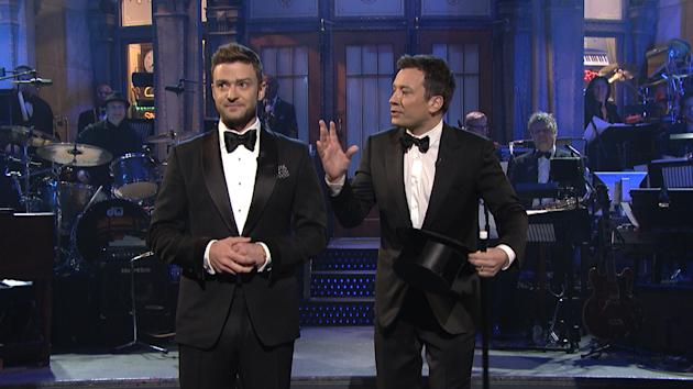 What's almost as long as the Grammys, with half the alcohol content of the  Golden Globes and as many montages as the Oscars? The Saturday Night Live  40th ...