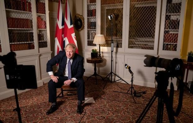 From 10 Downing Street in London, British Prime Minister Boris Johnson tells CBC chief political correspondent Rosemary Barton that the G7 needs to start work on crafting a global pandemic treaty that will help countries avoid the pitfalls and errors of the response to the COVID-19 pandemic. (Adrian Di Virgilio/CBC - image credit)