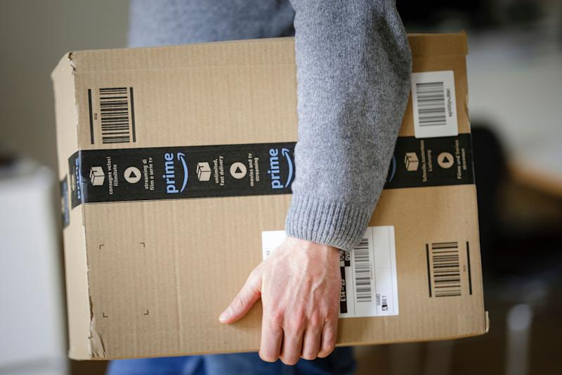 A man gave his Amazon-loving wife the perfect birthday present [Photo: Getty]