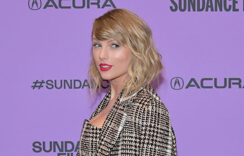 PARK CITY, UTAH - JANUARY 23: Taylor Swift attends the 2020 Sundance Film Festival -
