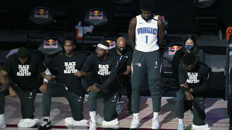 Magic forward Jonathan Isaac explains why he stood for anthem