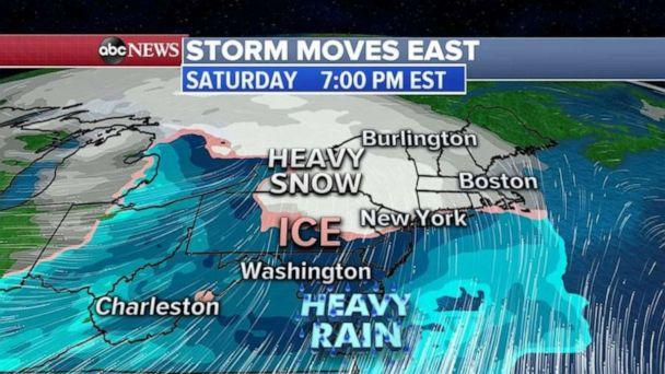 PHOTO: Storm moves east (ABC News)