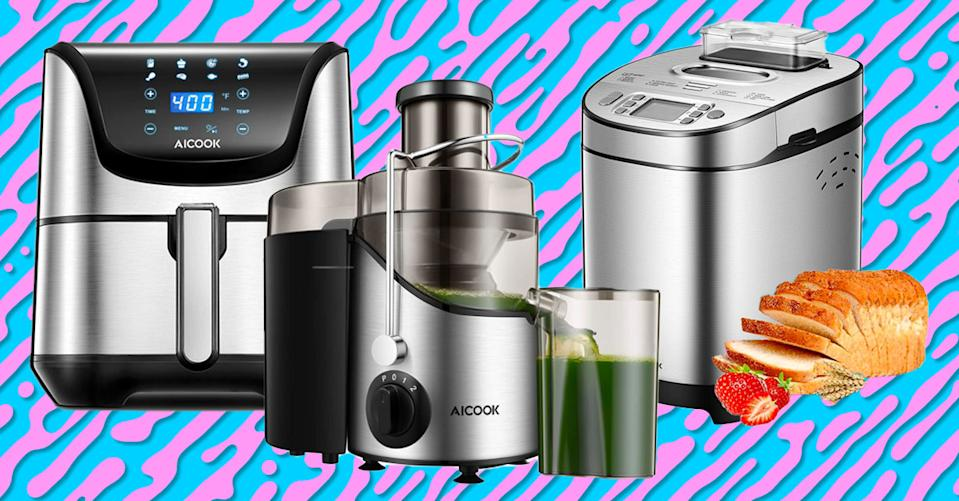 These Aicook appliances are stellar kitchen upgrades — and they're on sale! (Photo: Amazon)