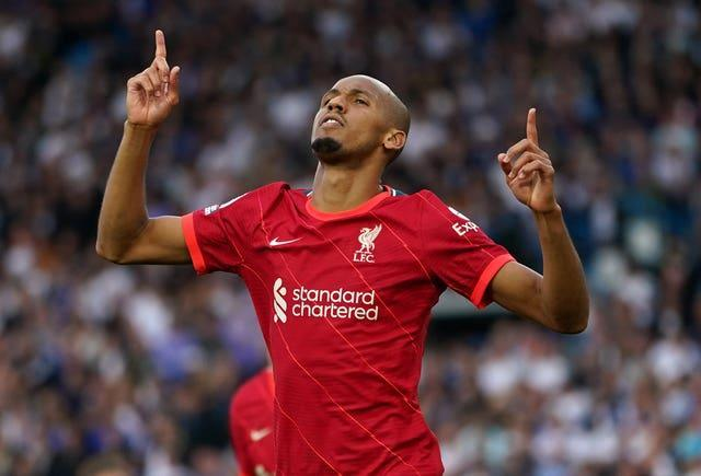 Fabinho is one of eight Premier League players called up by Brazil for next month's World Cup qualifiers