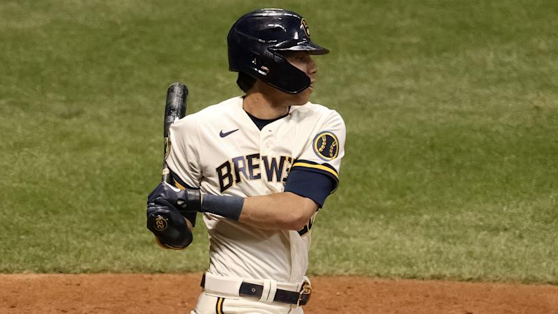 Brewers' Yelich hits inside-the-park homer, Indians win 13-0