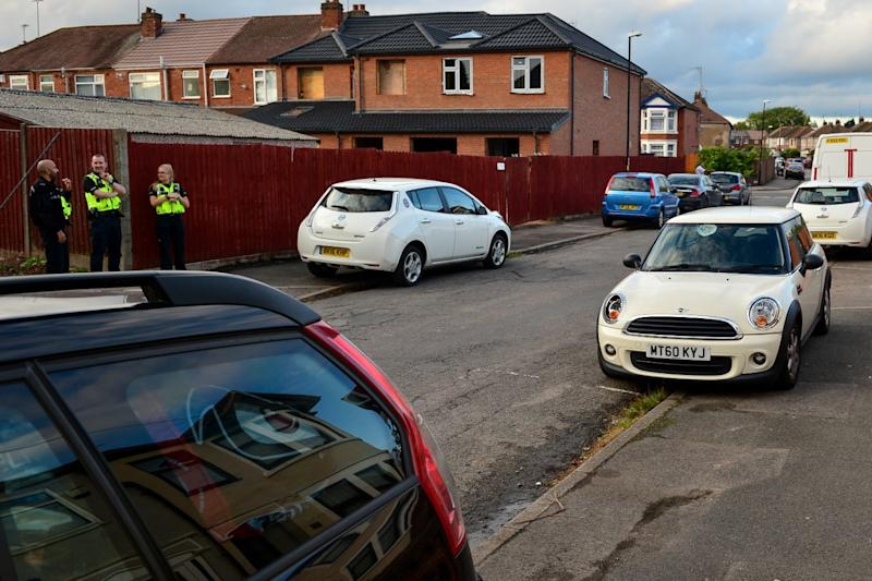 The incident took place on Holbrooks Lane on Coventry on Wednesday afternoon (SWNS)