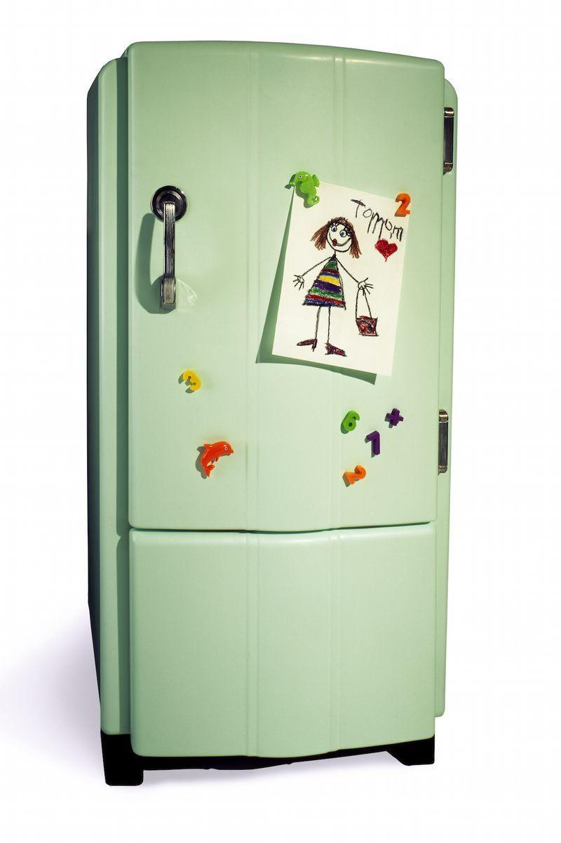 <p>Continuing the avocado green and harvest gold theme, refrigerators in the 1970s seemingly reflected what was inside them—avocados. It's a fun concept, but its charm is preserved in that decade. </p>