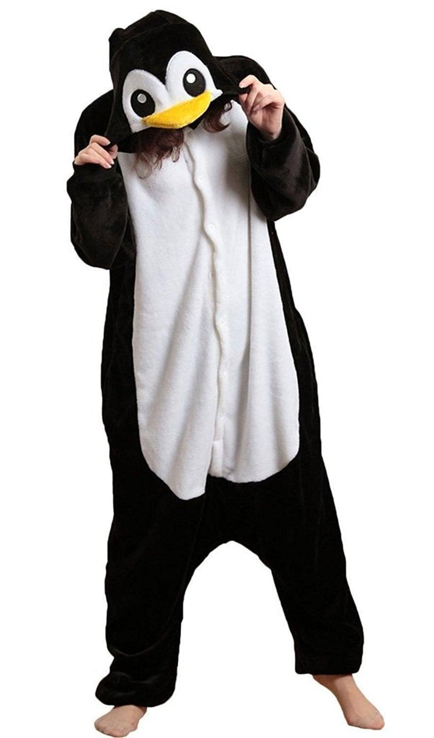 <p>Be the life of the party in this fun <span>Penguin Onesie</span> ($24). </p>