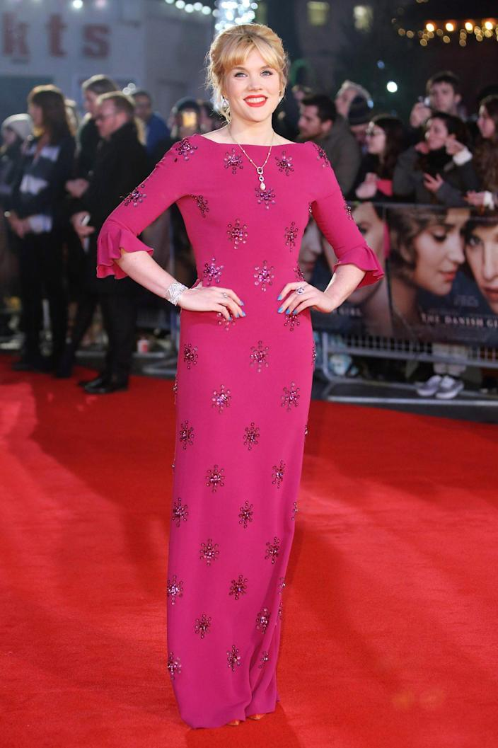 <p>In 2015, she appeared in the acclaimed film <em>The Danish Girl, </em>stunning at the film's U.K. premiere. </p>