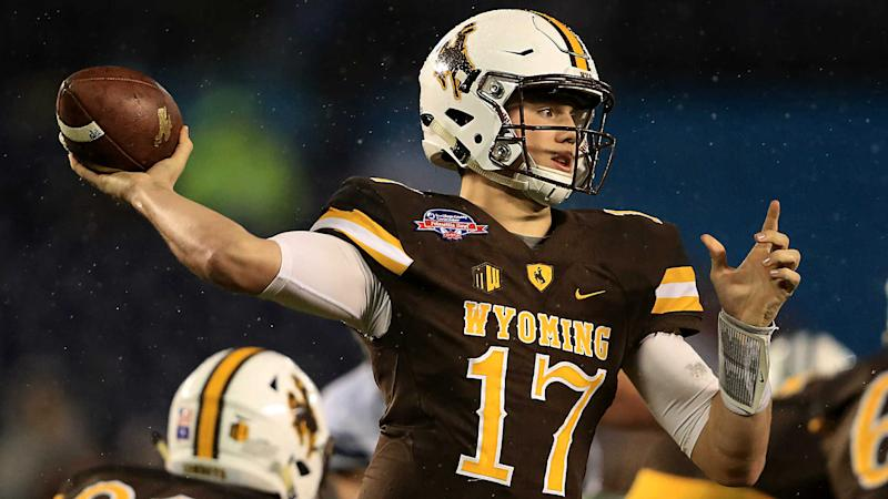 huge selection of 9f92d 51f82 Who is Josh Allen? Wyoming QB hopes NFL sees more Carson ...