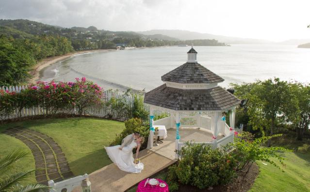 "<p><a href=""http://luxedestinationweddings.com/collection/st-lucia/"" rel=""nofollow noopener"" target=""_blank"" data-ylk=""slk:St. Lucia"" class=""link rapid-noclick-resp"">St. Lucia</a> is a breathtaking place for destination weddings, and places like Pigeon Island and <a href=""http://www.jademountain.com/cuisine/private_dining.html"" rel=""nofollow noopener"" target=""_blank"" data-ylk=""slk:Jade Mountain's Celestial Terrace"" class=""link rapid-noclick-resp"">Jade Mountain's Celestial Terrace</a> are among the selections to house intimate ceremonies, complete with picturesque scenery. St. James Club Morgan Bay is a definitive wedding venue with full-service offerings to check out. <em>(Photo of St. James Club Morgan Bay via </em><a href=""https://www.facebook.com/pg/stjamesclubmorganbay/photos/?tab=album&album_id=568962776451454"" rel=""nofollow noopener"" target=""_blank"" data-ylk=""slk:Facebook"" class=""link rapid-noclick-resp""><em>Facebook</em></a><em>)</em> </p>"