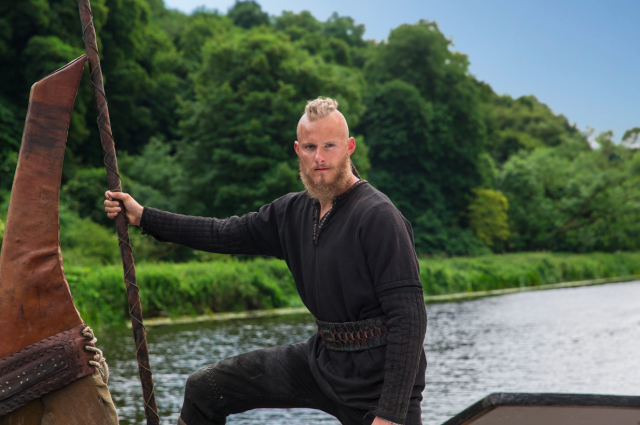 Björn (Alexander Ludwig) in <em>Vikings</em>. (Photo: Jonathan Hession/History)