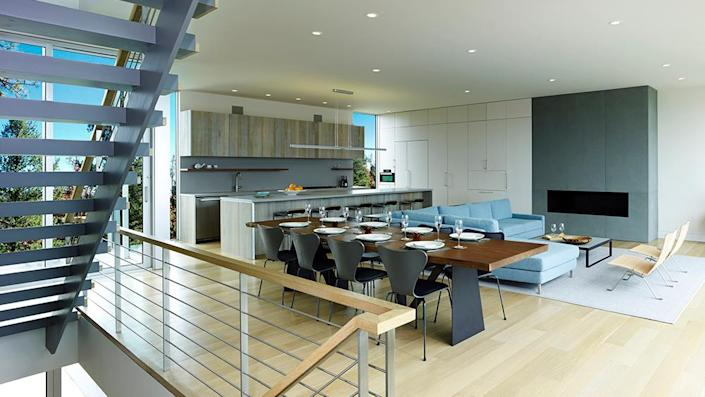 The kitchen. - Credit: Photo: Courtesy of Fred Stelle