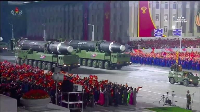 Kim throws down gauntlet with huge new ICBM: analysts