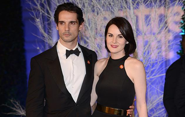 Michelle Dockery and John Dineen. Photo: Getty Images.