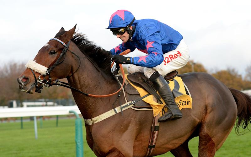 Cue Card ridden by Paddy Brennan - PA Wire