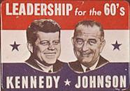 """<p>Kennedy's secretary, Evelyn Lincoln, <a href=""""http://www.history.com/news/history-lists/10-things-you-may-not-know-about-john-f-kennedy"""" rel=""""nofollow noopener"""" target=""""_blank"""" data-ylk=""""slk:revealed"""" class=""""link rapid-noclick-resp"""">revealed</a> in her memoir that John was considering a switch. Three days before his death and hours before his assassination, the Dallas Morning News printed an interview with Nixon, in which he revealed his suspicion that Kennedy would drop Nixon. </p>"""